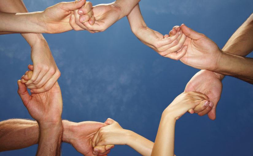 mani sostegno